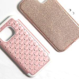 rose gold smartphone case